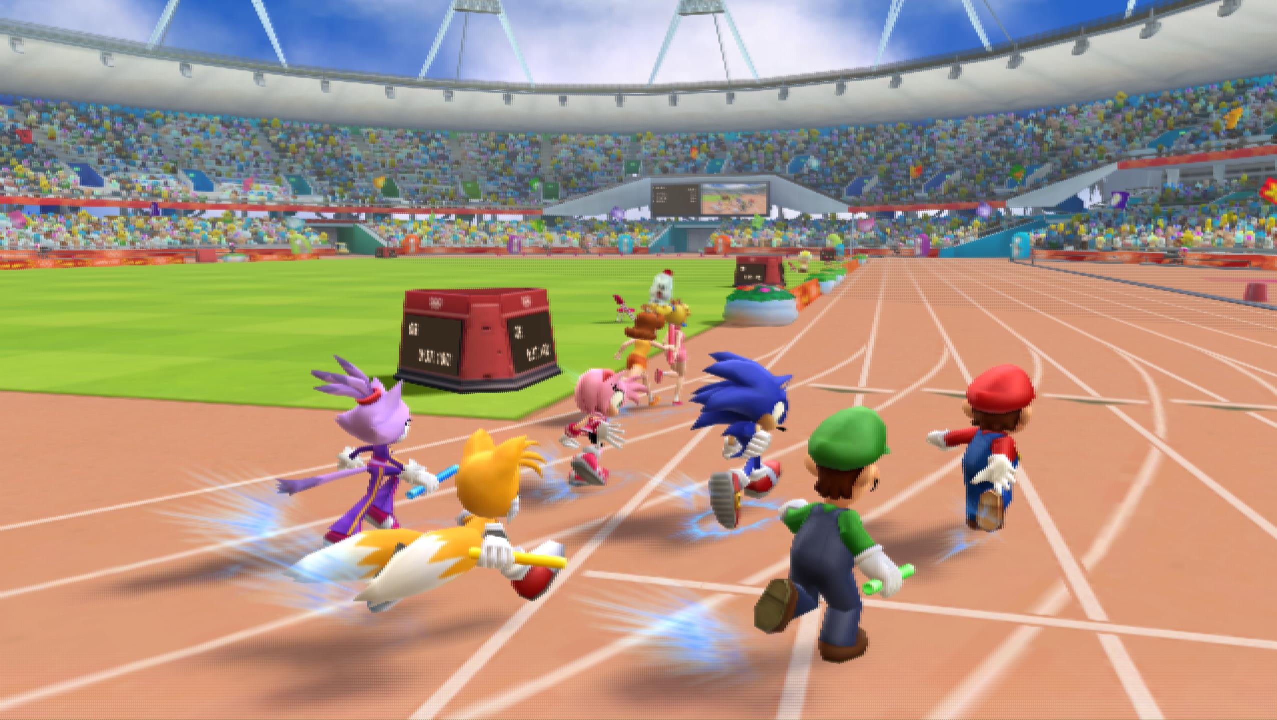 Test Mario Et Sonic Aux J O De Londres 2012 Wii