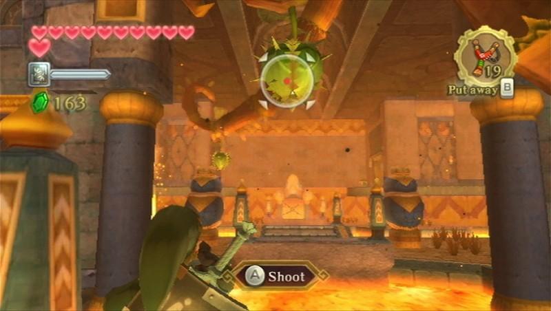 The Legend of Zelda Skyward Sword visée