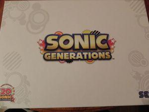 sonic generations coffret 3ds