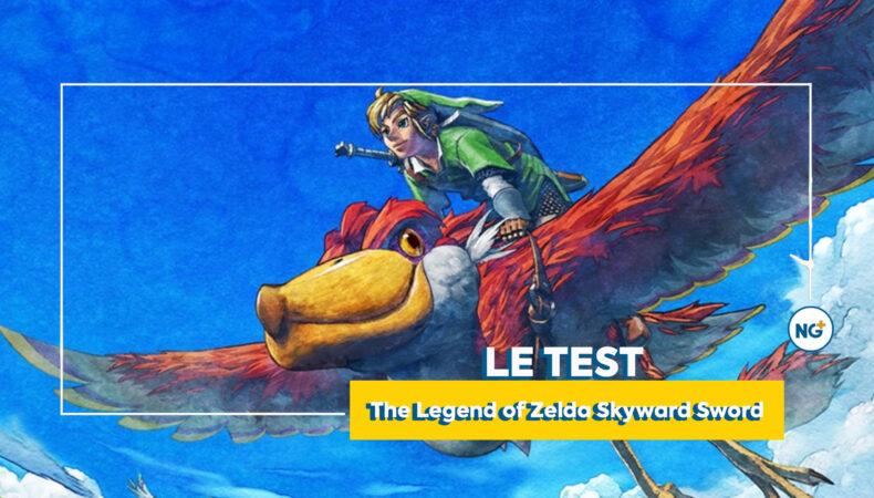 The Legend of Zelda Skyward Sword une