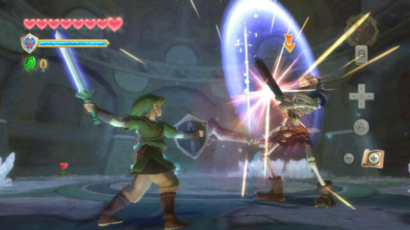 The Legend of Zelda Skyward Sword fight 2