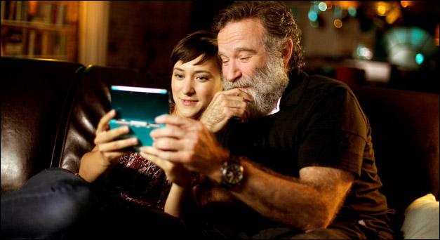 Robin Williams et sa fille