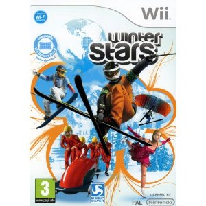 winter stars wii cover