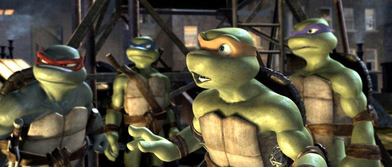 Tmnt manhattan crisis les tortues ninja sur wii u lightningamer - Les 4 tortues ninja ...