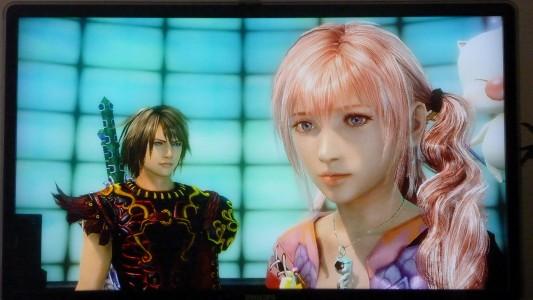 Serah dans Final Fantasy XIII-2