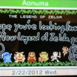 The Legend of Zelda 3DS : Vous avez un message !