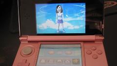 Ecran de 3DS avec avatar de joueur