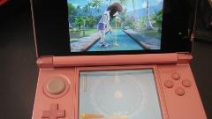 écran 3DS avec avatar en plein jeu