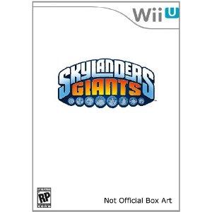 skylanders giants wii u cover