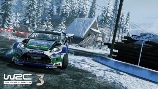 WRC 3 Monaco Ford