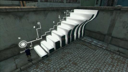 Papo & Yo escalier