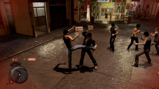Test Sleeping Dogs combat