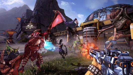 Combat Borderlands 2 avec Zéro