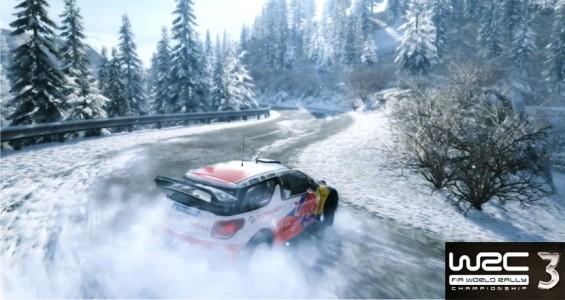 WRC 3 Drift Neige