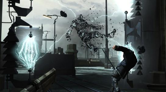 Electrocution d'un garde dans Dishonored