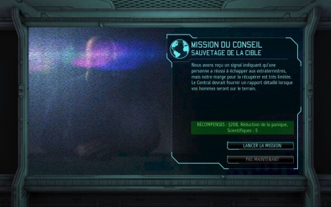 Test XCOM Enemy Unknown Menu