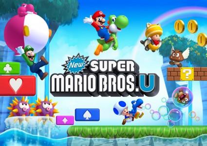 New Super Mario Bros. U personnages