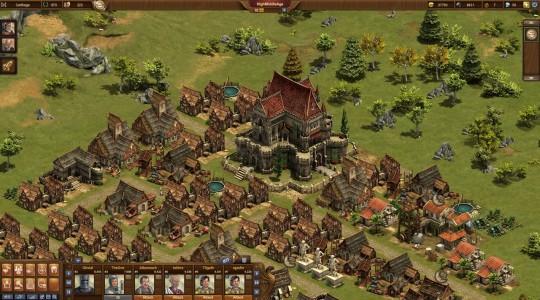 Test Forge of Empires carte du village