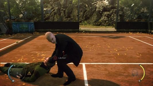 Test Hitman Absolution tennis