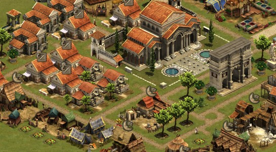 Test Forge of Empires empire