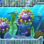 New Super Mario Bros. U gameplay aquatique