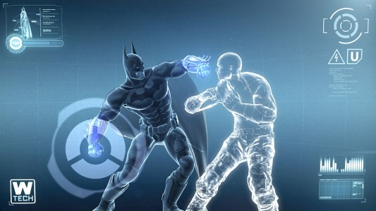 Batman Arkham City Armored Edition combat virtuel