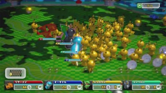 Pokemon Rumble U Pikachu