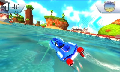 Sonic & All Stars Racing Transformed hors-bord