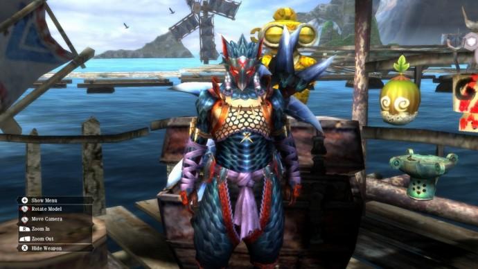 Monster Hunter 3 Ultimate Armure