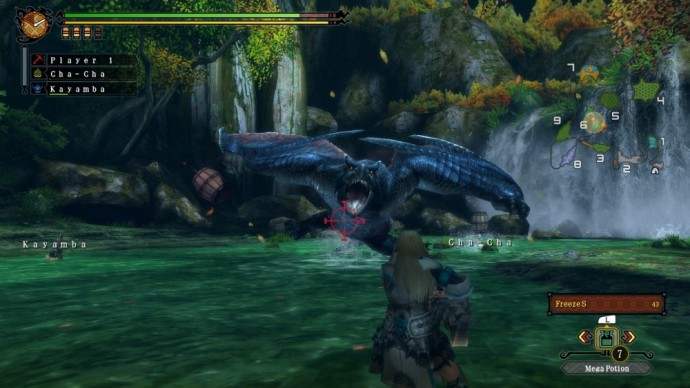 Monster Hunter 3 Ultimate Nargacuga