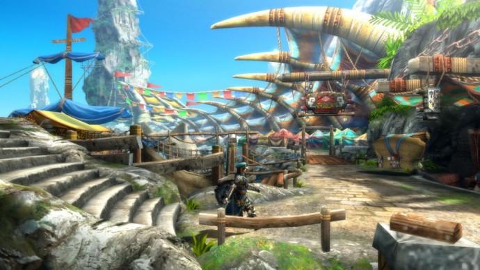 Monster Hunter 3 Ultimate Ville online