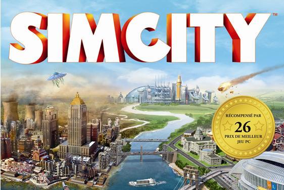 SimCity jaquette