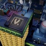 SimCity toit d'immeuble