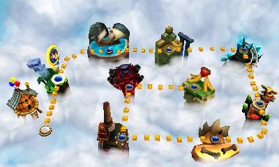 Donkey Kong Country Returns 3D choix niveau