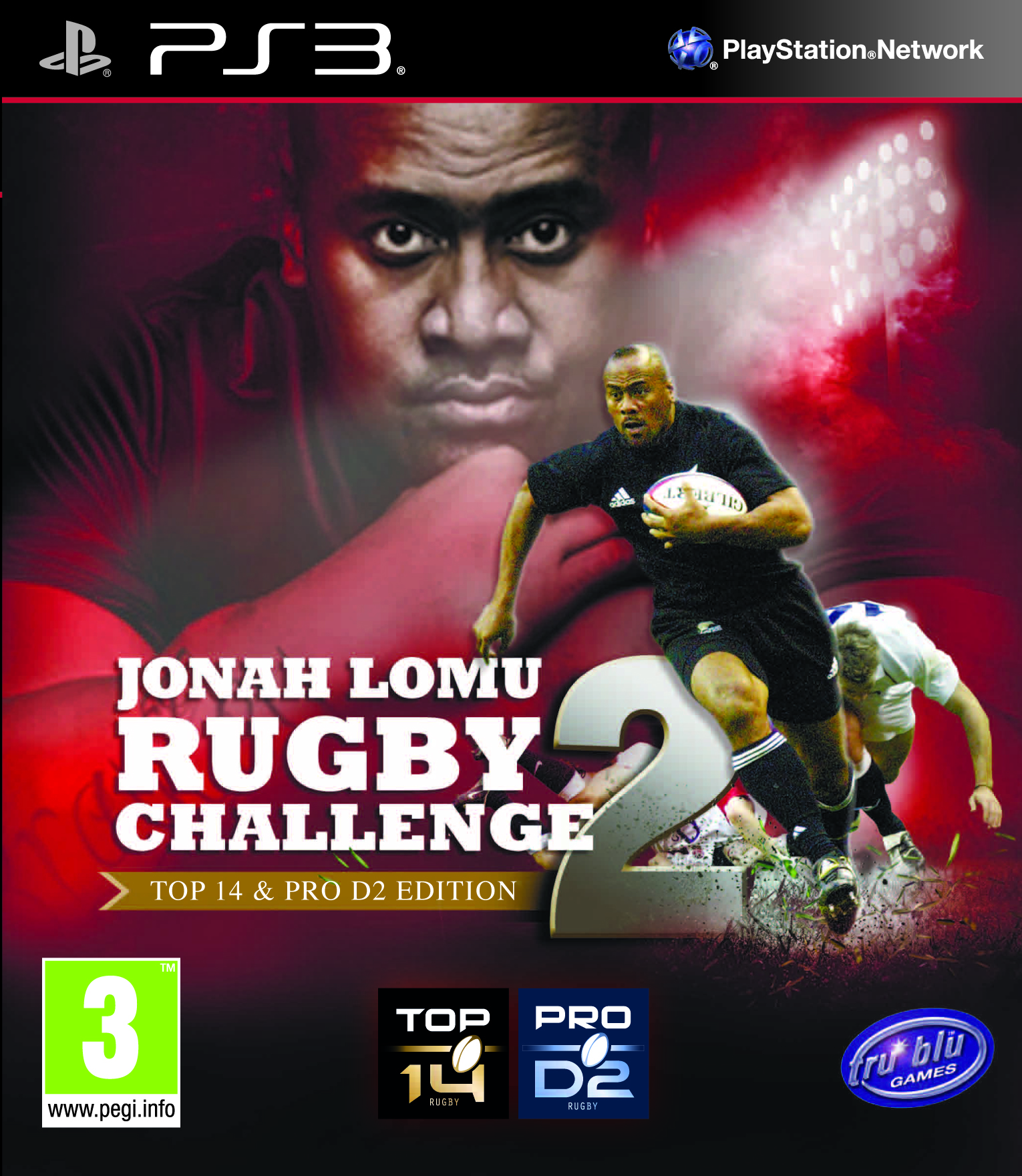 Jonah Lomu Rugby Challenge 2 (2013) [FR] [PS3]