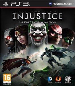Injustice : Les dieux sont parmi nous jaquette PS3
