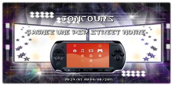 Concours : Remportez une console Sony PSP !
