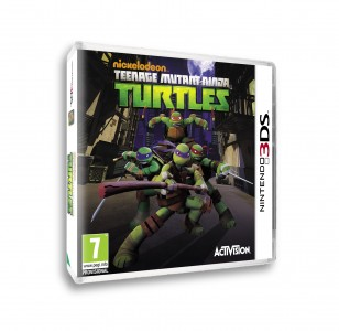 tortues ninja 3ds cover