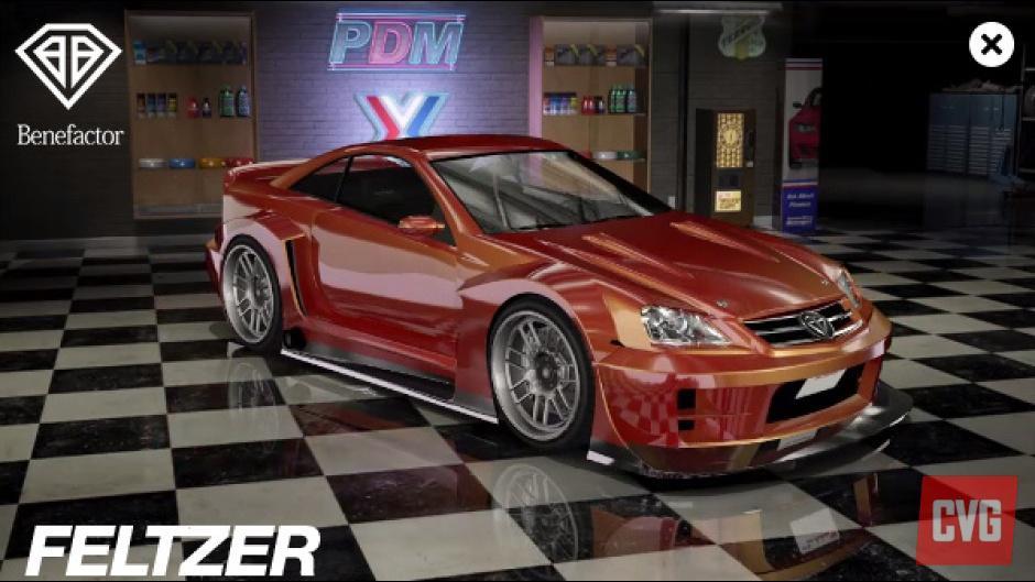 Gta 5 l ve le voile sur trois nouvelles voitures de luxe for Voiture garage gta 5