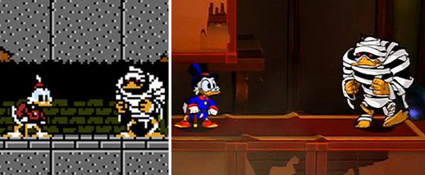 Duck Tales : NES vs Wii U !