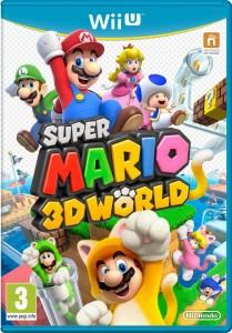 Super Mario 3D World  la jaquette officielle se présente