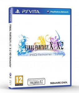 Jaquette FF X/X2 Remaster HD