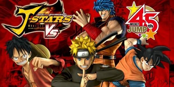 J-Stars Victory VS+ Luffy Naruto Son Goku