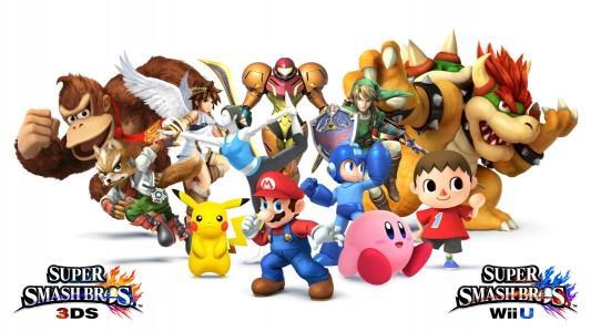 Super Smash Bros multiples personnages