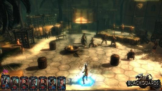 Blackguards combat