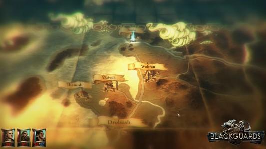 Blackguards map