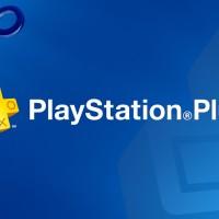 PlayStation Plus Logo sur fond bleu