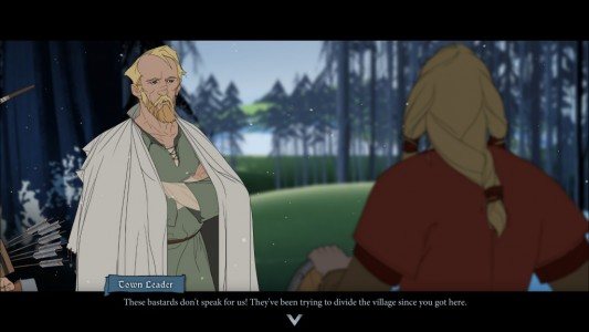 The Banner Saga dialogue