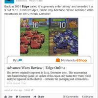 Advance War sur Wii U