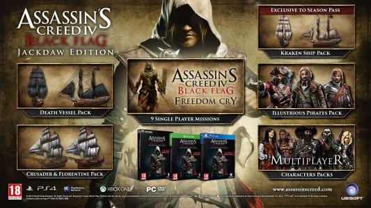 Assassin's Creed IV Black Flag Jackdaw Edition